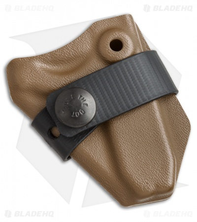 Wise Men Company Wise Guy Pocket Tool Kydex Carrier Sheath - Coyote