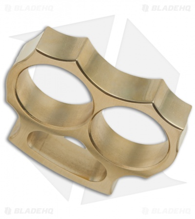 Woody Knuckles Brushed Brass WK-Duce Two Finger Knuckles