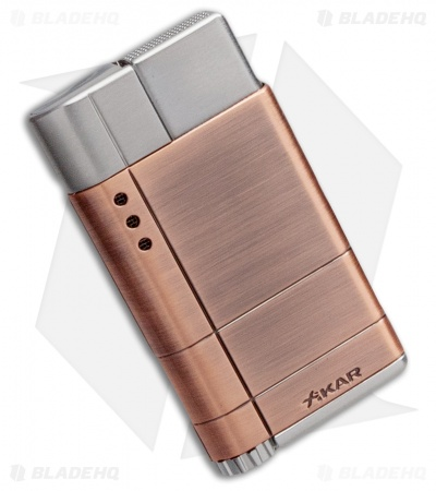 Xikar Cirro High Altitude Single Flame Lighter (Bronze) 522BZ