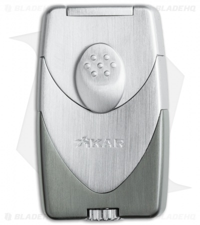 Xikar Enigma Dual Flame Lighter (Gunmetal/Satin) 570GM