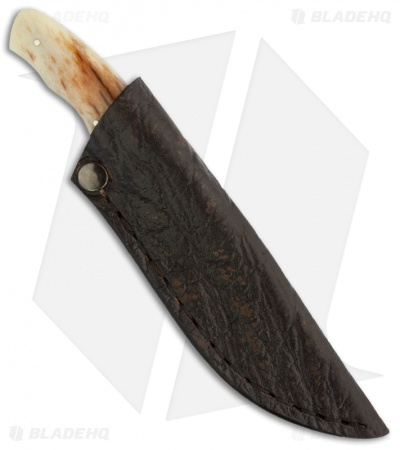 "Arno Bernard Knives Squirrel Fixed Blade Knife Giraffe Bone (2.625"" Satin)"