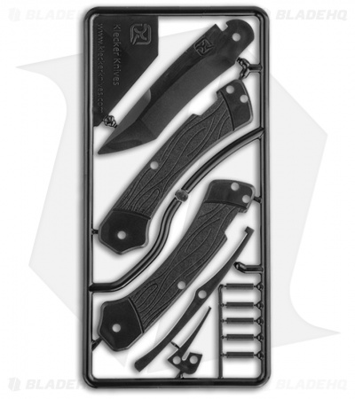 Klecker Knives Trigger Knife Kit (Black)