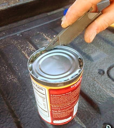 RUT Can Opener Function