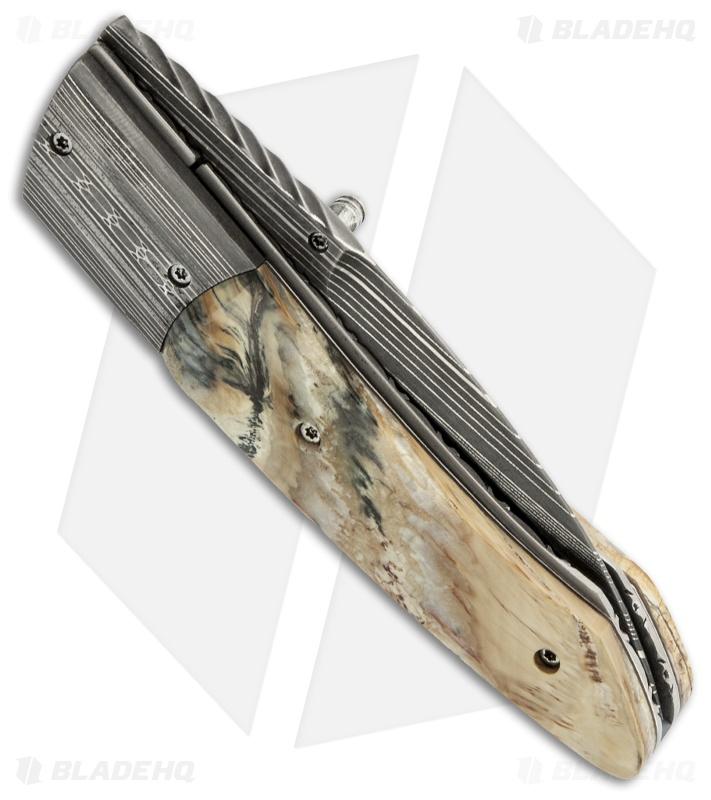 Corrie Schoeman X Tend Folder Knife Mammoth Molar Tooth (3