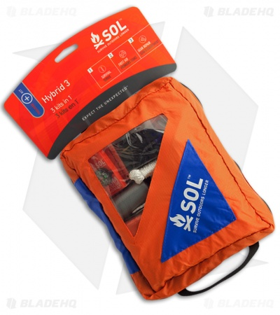 Adventure Medical Kits S.O.L Hybrid 3-in-1 Survival, First Aid, Repair SOL