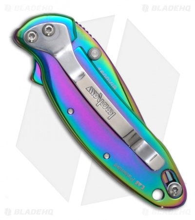 "Kershaw Chive Assisted Opening Knife Spectrum (1.94"" Rainbow) 1600VIB"