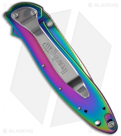"Kershaw Leek Assisted Opening Knife (3"" Spectrum) 1660VIB"