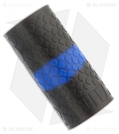 TUFF1 Gun, Knife & Axe Grip Cover Thin Blue Line Boa (Black/Blue)
