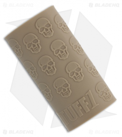 TUFF1 Gun, Knife & Axe Grip Cover Death (Desert Tan)