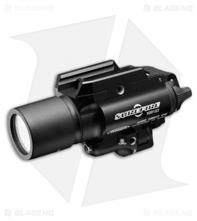 Surefire X400 Ultra-High-Output LED+Laser Weaponlight (500 Lumens)