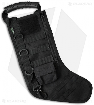 Junior Kids Tactical Christmas Stocking Deluxe Molle Elite Version (Black)
