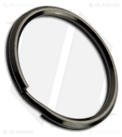 UMX Stainless Steel Split Ring - 30mm / Black