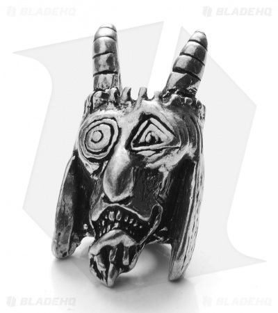 Schmuckatelli USN Tactical Goat Skull Bead (Pewter)