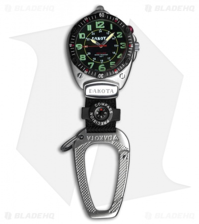 Dakota Big Face Clip Watch Black DK8852