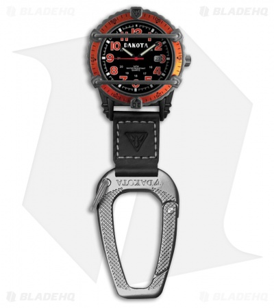 Dakota Phase III Clip Orange Watch DK3054