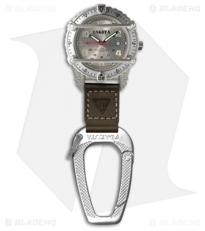 Dakota Phase III Clip Gray Watch DK3061